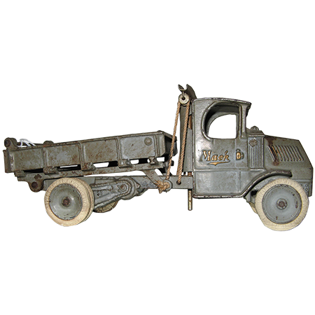 antique mack truck display piece