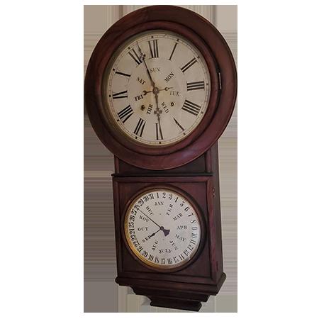 New York New Haven Railroad Clock Decal-Ashton Estate Sales